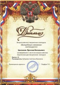 Цыганков  Ярослав Витальевич